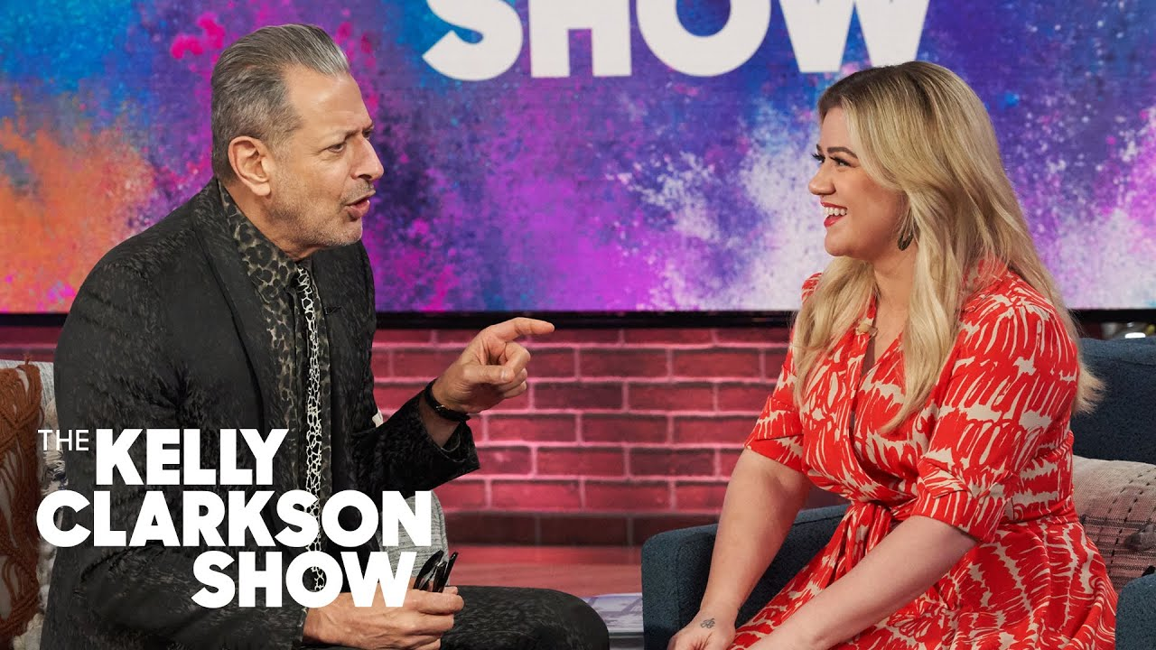 Jeff Goldblum And Kelly Clarkson Bond Over Naming Their Kids River