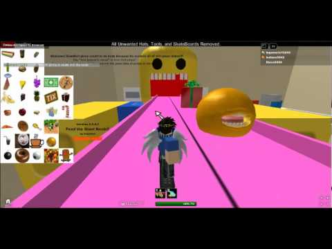 feed the noob roblox game