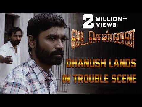 VADACHENNAI - Dhanush Lands in Trouble Scene   Dhanush   Ameer   Andrea Jeremiah   Vetri Maaran