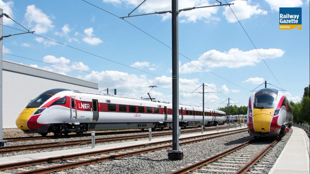 Doncaster hub prepares to maintain Azuma fleet - Railway Gazette