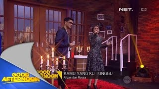 Video Performance - Rossa ft Afgan - Kamu Yang Ku Tunggu download MP3, 3GP, MP4, WEBM, AVI, FLV Maret 2018