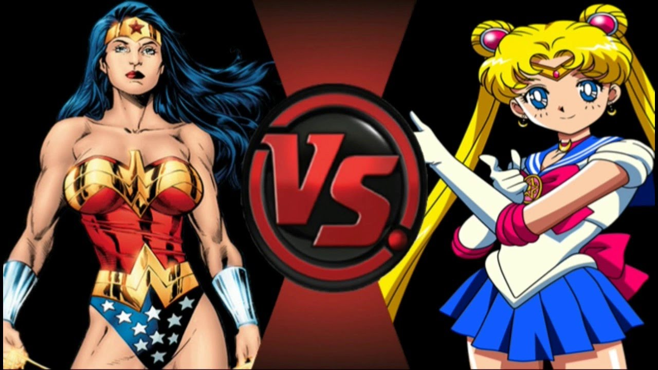 Wonder woman vs sailor moon teaser coming soon to - Superman wonder woman cartoon ...