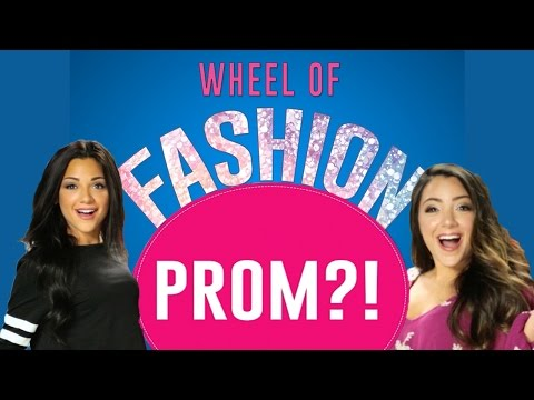 Prom Dress Challenge with Niki and Gabi #WheelofFashion - Presented by Seventeen & Macy's