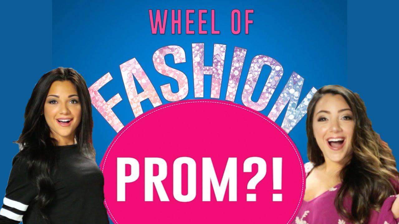 Prom Dress Challenge With Niki And Gabi Wheeloffashion Presented