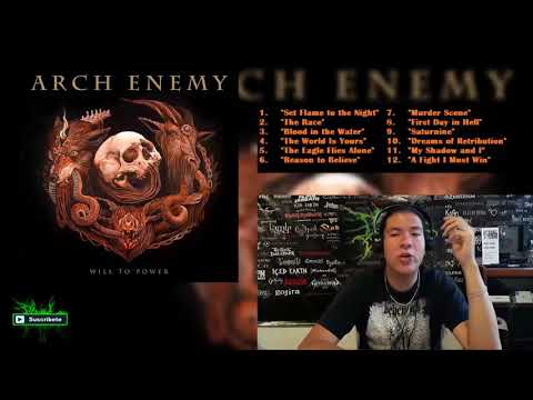 Arch Enemy - Will To Power / Metal Release