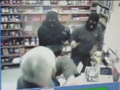 Violent Post Office robbery - Knipton, UK