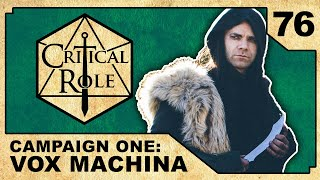 Brawl in the Arches | Critical Role RPG Episode 76
