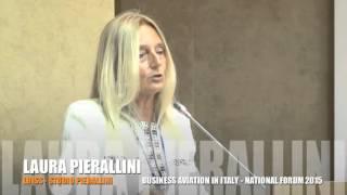 Intervento conclusivo di Laura Pierallini e Rodolfo Baviera a Business Aviation in Italy 2015