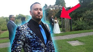 Embarrassing My Best Friend At His Wedding
