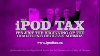 Conservative ad: Stop The iPod Tax (2011)