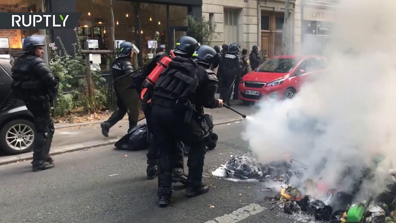 Во Франции участились самоубийства среди полицейских