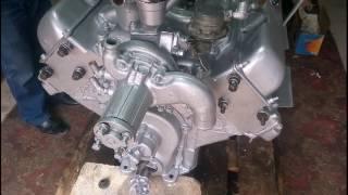 Двигатель ЗИЛ 130 рестоврация