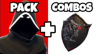 🔴 10 AMAZING COMBOS: NEW PACK DARK LEGENDS FORTNITE + DARK SKINS BEST TRYHARD COMBOS