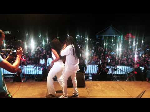 "JAHYANAI & BAMBY "" RUN DI PLACE PERFORMANCE "" @MARTINIQUE "" BALLIN VILLAGE   BAMBY X JAHYANAI"