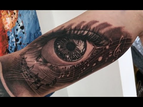 Seeing music - Tattoo time lapse