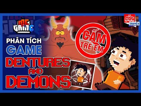 Phân Tích Game: Dentures and Demons - Trò Chơi Ác Quỷ Nhưng Hài Là Chính | meGAME
