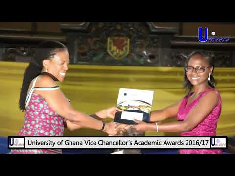 Who wins What at University of Ghana VC's Academic Awards (2016/17)
