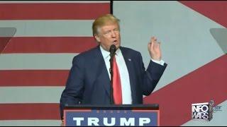 Donald Trump's Anti-Establishment Speech. MUST SEE VIDEO