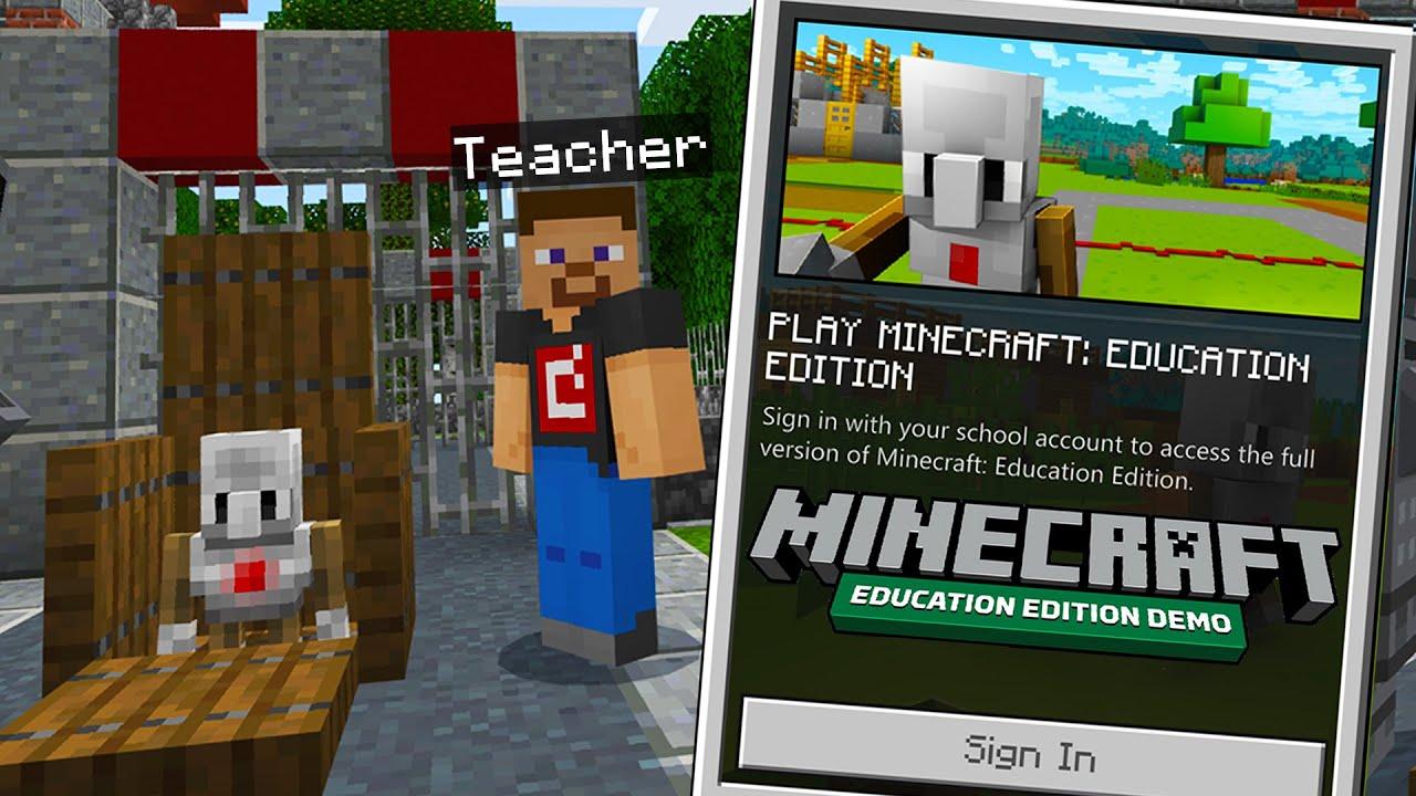 So I Tried MINECRAFT EDUCATION EDITION..