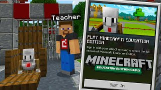So I Tried MINECRAFT EDUCATION EDITION..