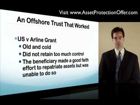 Offshore Asset Protection Trust | The Protector and One That Worked