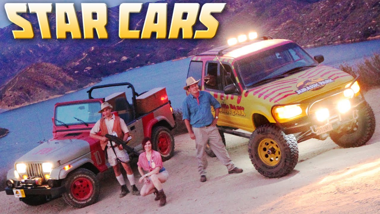 STAR CARS- Jurassic Park Off-Road Special (Ep. 11) - YouTube