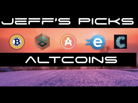 Recent Altcoin Picks For Jeff From Altcoin Buzz