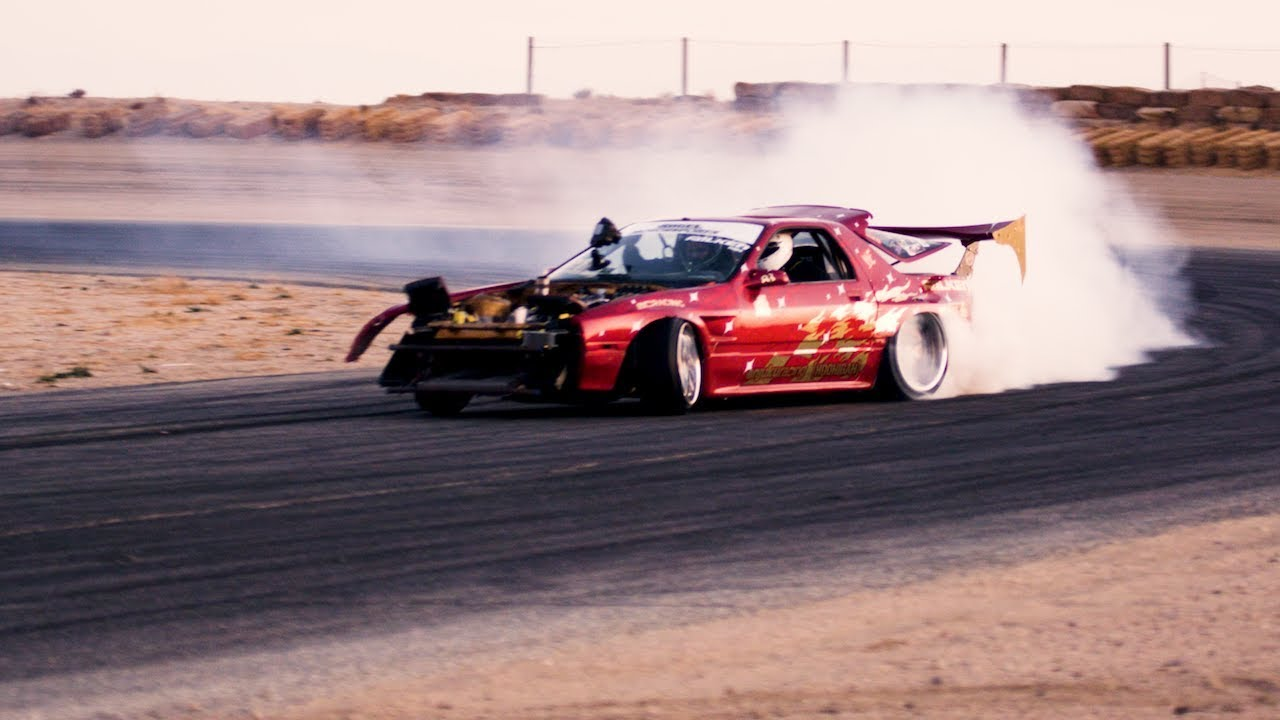 400hp 13b rew rx7 first drift test in the twerkstallion youtube