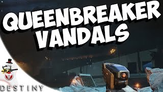Queenbreaker Vandals Location - The Cinders - Guide & Tutorial Venus