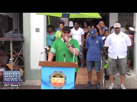 Reverend Nicholas Tweed at Labour Day, September 5 2016