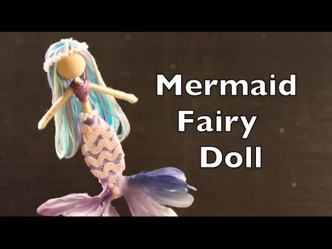Diy Tutorial On How To Make Mermaid Fairy Dolls Youtube