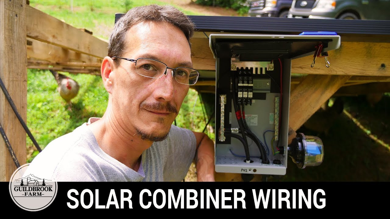 Diy Off Grid Solar Assemble Wire A Combiner Box Part 4 Youtube Wiring Diagram