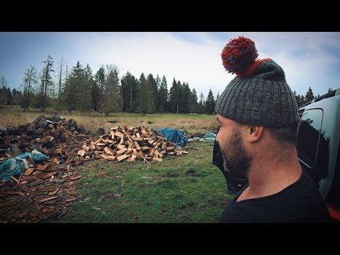 видео: Как заработать на дровах в США? Русские помогают американцу-инвалиду.