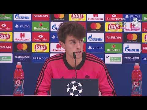 Rueda de prensa de ODRIOZOLA Previa Champions al Real Madrid - CSKA