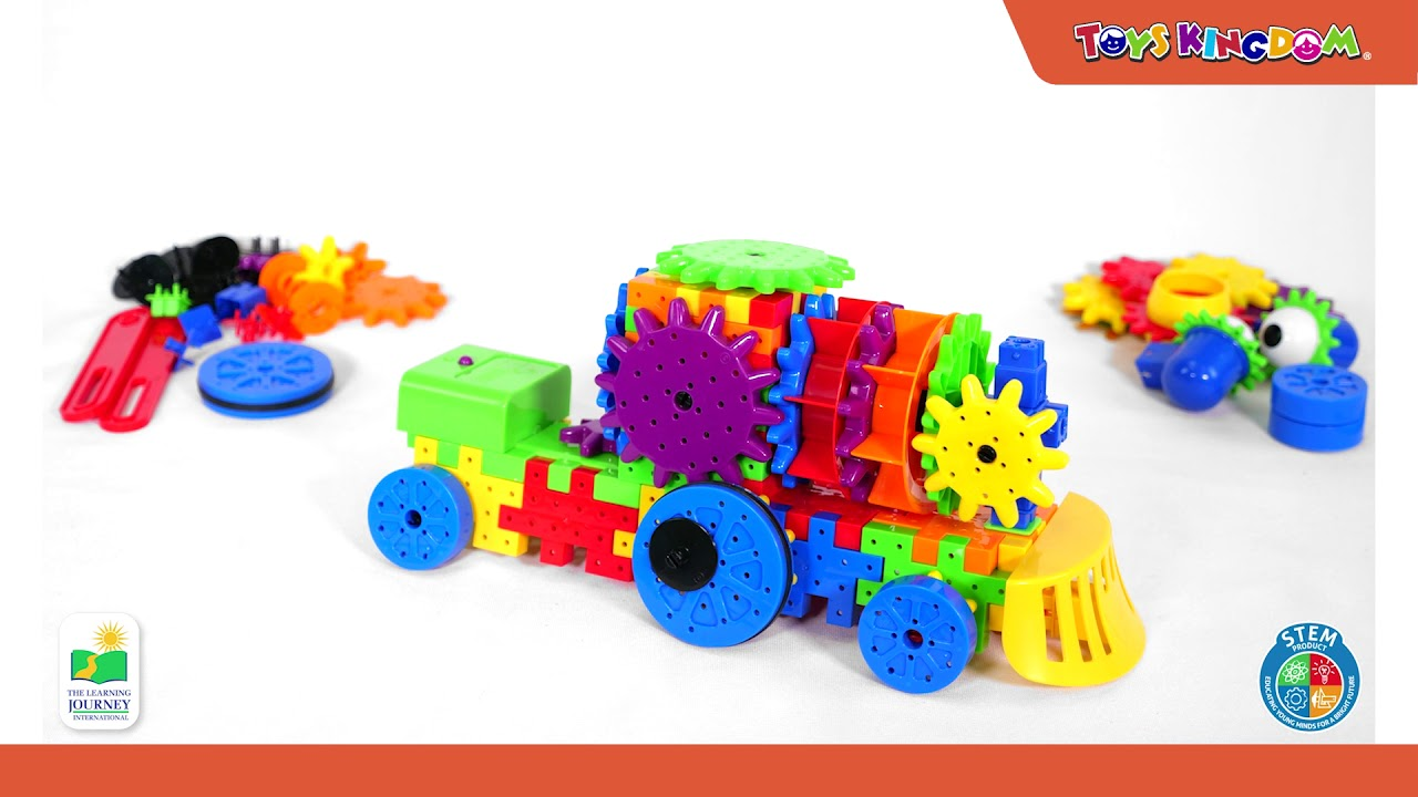 Download The Learning Journey Techno Gears Crazy Train - Toys Kingdom