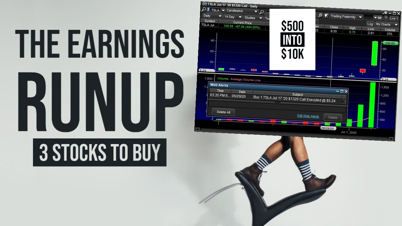 THE STOCK MARKET IS GOING CRAZY!!!!! - My Watchlist - 3 STOCKS TO BUY NOW!! (TSLA, FB, NVDA)