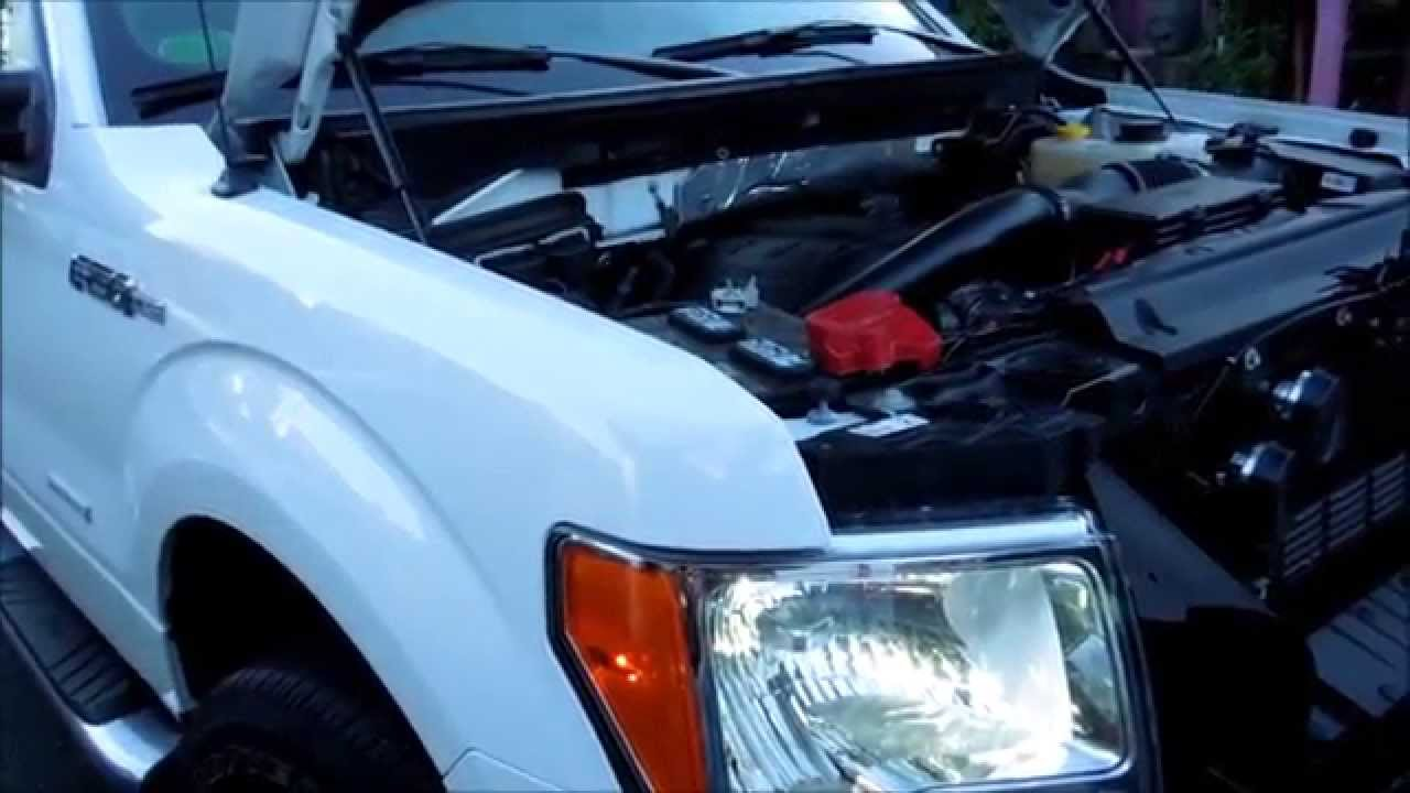 How to remove headlight and install h13 hid bulbs on a ford f150 2014 youtube