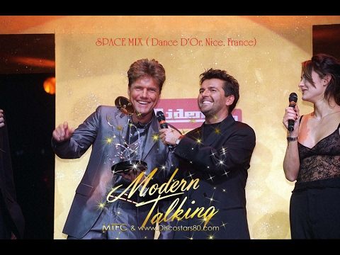Modern Talking - Space Mix (Dance D'Or 22.01.1999 Nice, Fran