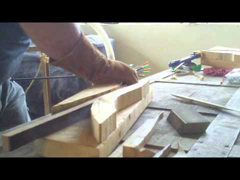 How to steam bend wood at home -