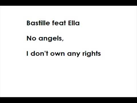 Bastille feat Ella - No angels