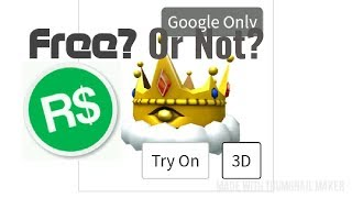 Roblox| How to get GILDED TRIAD CROWN (2019)