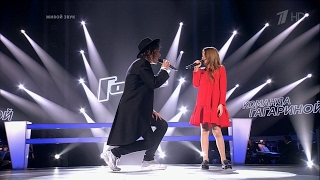 The Voice RU 2016 Mikhail & Maria — «La La La» Knockouts | Голос 5. М.Житов и Мария Панюкова