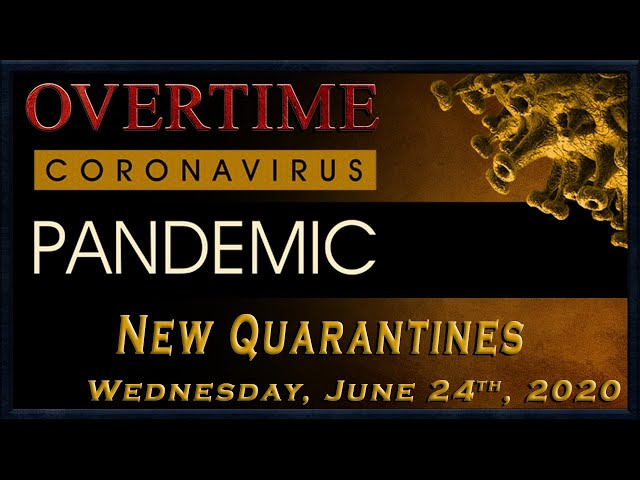 Overtime: Lockdowns recomended. Record infections