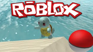 ROBLOX - POKEMON GO! - SQUIRTLE, SQUIRTLE! - GAMEPLAY