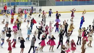 Новый год 2018 юбилейный Воронеж ДЮСШОР24 фигурное катание