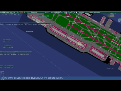 Controlling Dubai Ground on Vatsim