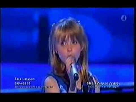 Zara Larsson Talang 2008 Final Winner 10 Years Ago 7293 Views Redtuderedtude