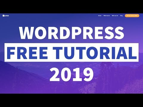 How to Make a WordPress Website for FREE! 2019 - Elementor for Beginners thumbnail