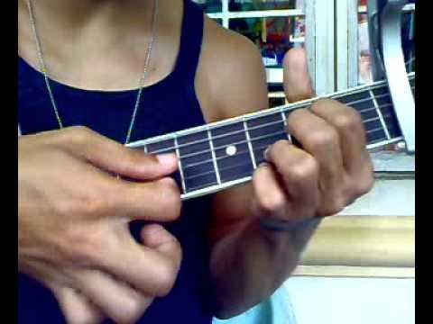 Collide chords guitar tutorial