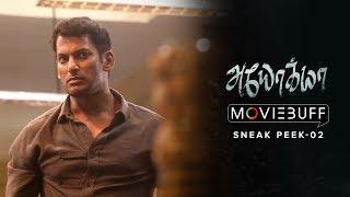 Ayogya - Moviebuff Sneak Peek 02 | Vishal, Raashi Khanna, R Parthiban | Venkat Mohan